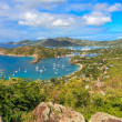 Antigua Bay Aerial View, Falmouth Bay, English Harbour, Antigua — Stock Photo #22795838