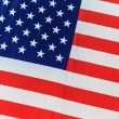 Flag of the United States of America (details) - Foto Stock