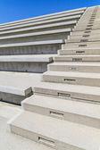近代的な円形競技場でコンクリート階段 — ストック写真