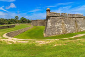 St. Augustine Fort, Castillo de San Marcos National Monument — Stock Photo