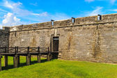 St. Augustine Fort, Castillo de San Marcos National Monument — Stock Photo