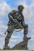 Iron Mike Statue in Normandy, France — Stock Photo