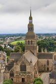 Cathedral of Dinan, Brittany, France — Stock Photo