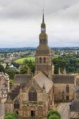 Cathédrale de dinan, bretagne, france — Photo