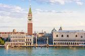 Wenecja, piazza san marco w godzinach porannych — Zdjęcie stockowe