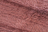 Texture of brown fleece (background) — Stock Photo