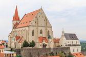 Znojmo, Czech Republic - Church of St. Nicholas and St. Wencesla — Foto Stock