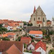 Znojmo, Czech Republic - Church of St. Nicholas and St. Wencesla — Stock Photo
