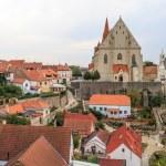 Znojmo, Czech Republic - Church of St. Nicholas and St. Wencesla — Stock Photo #24790341