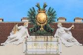 Vienna, Austria - Eagle on imperial palace — Stock Photo