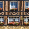 Beuvron-en-Auge, typical house facade, Normandy — Stock Photo #28543453