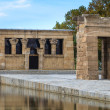 Madrid, ancient Egyptian temple of Debod, Spain — Stock Photo #28545843