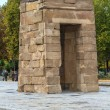 Madrid, ancient Egyptian temple of Debod, Spain — Stock Photo