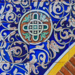 Ornamental oriental tile (architectural detail), Spain — Stock Photo