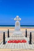 Normandy Landings Navy Memorial in Hermanville, France — Stock Photo