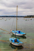 Sailing boats near St. Malo in Brittany, France — Stock Photo