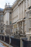 Madrid Royal Palace, Side View, Spain — Stock Photo