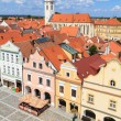 Stock Photo: Historical city of Trebon (in GermWittingau), Czech Republic
