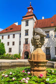 Trebon (Wittingau) Renaissance Castle (Zamek Trebon), Czech Repu — Stock Photo