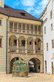 Jindrichuv Hradec (Neuhaus) castle in Southern Bohemia, Czech Re — Stock Photo