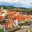 Cesky Krumlov Krumau, Czech Republic, Church of Saint Vitus — Stock Photo