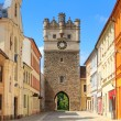Jihlava (Iglau) Old City Gate, Moravia, Czech Republic — Stock Photo