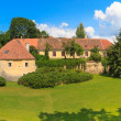 Old town fortification in Trebon (in GermWittingau), Czech Re — Stock Photo #29036149