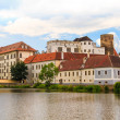 Stock Photo: Jindrichuv Hradec (Neuhaus) castle in Southern Bohemia, Czech Re
