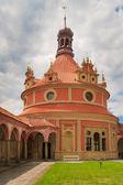 Jindrichuv Hradec (Neuhaus) castle in Southern Bohemia, Czech Re — Stock Photo