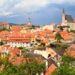 Stock Photo: Cesky Krumlov, Krumau Panorama, UNESCO World Heritage Site