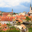 Cesky Krumlov, Krumau, UNESCO World Heritage Site — Stock Photo #35039697