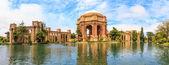 San francisco panorama, exploratorium i pałac sztuk pięknych, ca — Zdjęcie stockowe