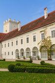 Enns Castle and Garden, Upper Austria — Foto Stock