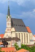 Cesky Krumlov, Krumau, UNESCO World Heritage Site — Stock Photo