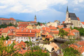 Cesky Krumlov, Krumau, UNESCO World Heritage Site — Stock Photo
