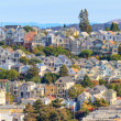 Stock Photo: Typical SFrancisco Neighborhood, California