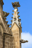 Gargoyle (gothic church architectural detail) — Photo