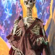 Skeleton at a amusement park ghost train — Stock Photo #37986997