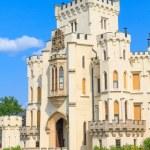 Hluboka nad Vltavou palace, Czech Republic — Stock Photo