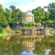 Park of Esterhazy Palace, Leopoldina Temple — Stock Photo