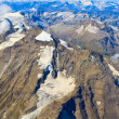 Glacier at Grossglockner massif aerial view — Stock Photo #37992027