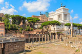 Forum Romanum (Roman Forum), Rome, Italy — Stock Photo