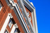 Colonial Red Brick Architecture (USA) — Stock Photo