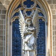 Gothic Angel Architecture Detail of Church — Stock Photo #38269561