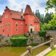 Stock Photo: Red water chateau Cervena Lhota in Southern Bohemia, Czech Repub