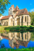 Pottendorf Castle and Gothic Church Ruins near Eisenstadt, Austr — Stock Photo