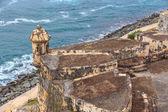 San Juan, Fort San Felipe del Morro, Puerto Rico — Stock Photo