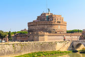 The Mausoleum of Hadrian, Castel Sant Angelo, Rome, Italy — Stock Photo