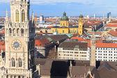 Munich, Gothic City Hall at Marienplatz, Bavaria, Germany — Stock Photo