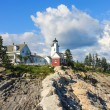Pemaquid Point Lighthouse, Maine, USA — Stock Photo